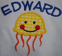 Jellyfish Applique